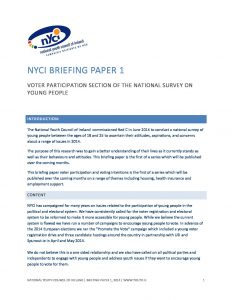 NYCI-Briefing-Paper-on-Voter-Participation-National-Survey-050914-3 document cover